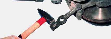 Schlag-Sechskant-Schlüssel von Gedore für Bremssattelverschraubungen