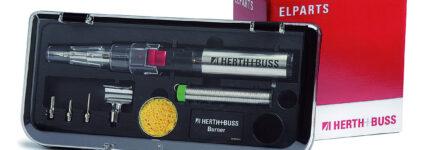 Kompakter Gaslötbrenner 'Burner' ergänzt Angebot von Herth + Buss