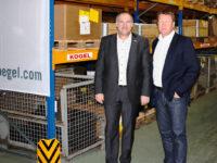 Kögel Ersatzteilbereich wächst: Umzug in ein neues Logistikzentrum