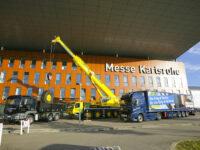 Nutzfahrzeugmesse Karlsruhe expandiert: Vierte Halle geplant