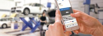 ZF Aftermarket: Einfachere Ersatzteilsuche mit der neuen App