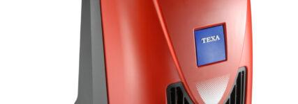 Kompaktes Klimagerät von Texa für den mobilen Einsatz
