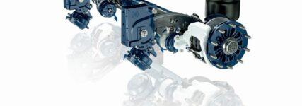 Achse 'Eco Air Comact HD' von BPW für hohe Beanspruchungen