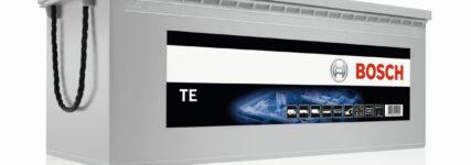 Bosch: Zyklenfest und rüttelsicher die 'TE'-Batterien mit EFB-Technologie
