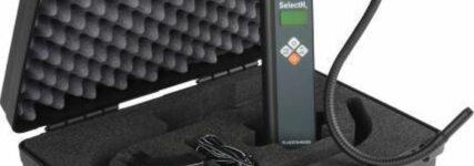Schnelle Abhilfe mit dem Klima-Lecksucher 'SelectH2' von Herth + Buss