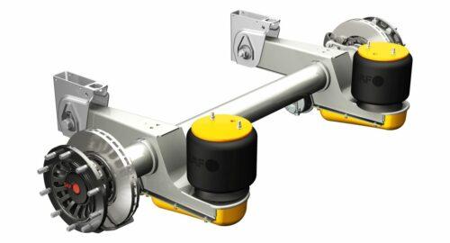 Nahezu wartungsfrei das 'Adaptive Air Damping'-System von SAF-Holland