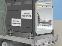 Mobile Vorführ-Fertiggrube von HDC-Fertiggruben
