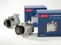 Klimakompressoren von Denso für den 'Unimog'