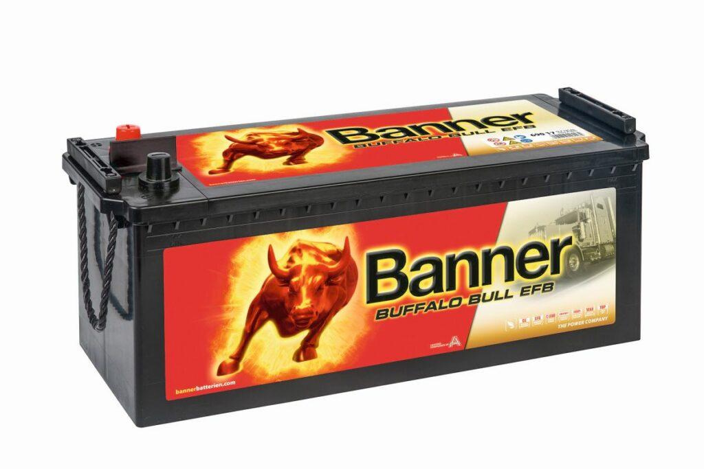 Banner EFB-Batterie Buffalo Bull EFB