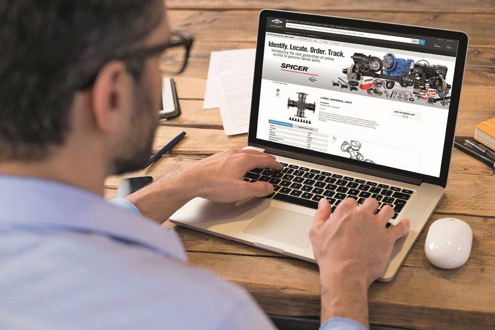 """E-Commerce Plattform """"DanaAftermarket.com"""""""