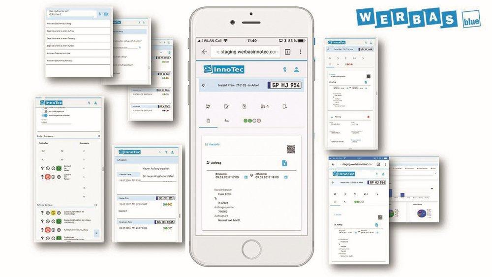 Werbas Werksatttsoftware `Werbas.blue'
