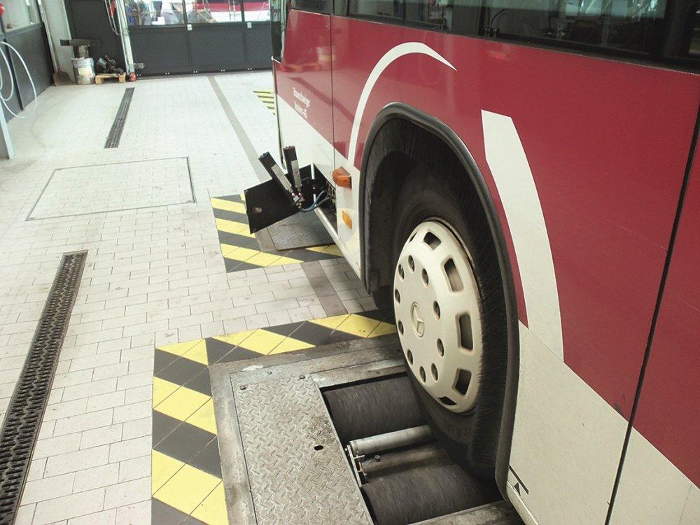 Bremsprüfstand von AHS nachrüsten, Bremsprüfstandsrichtlinie