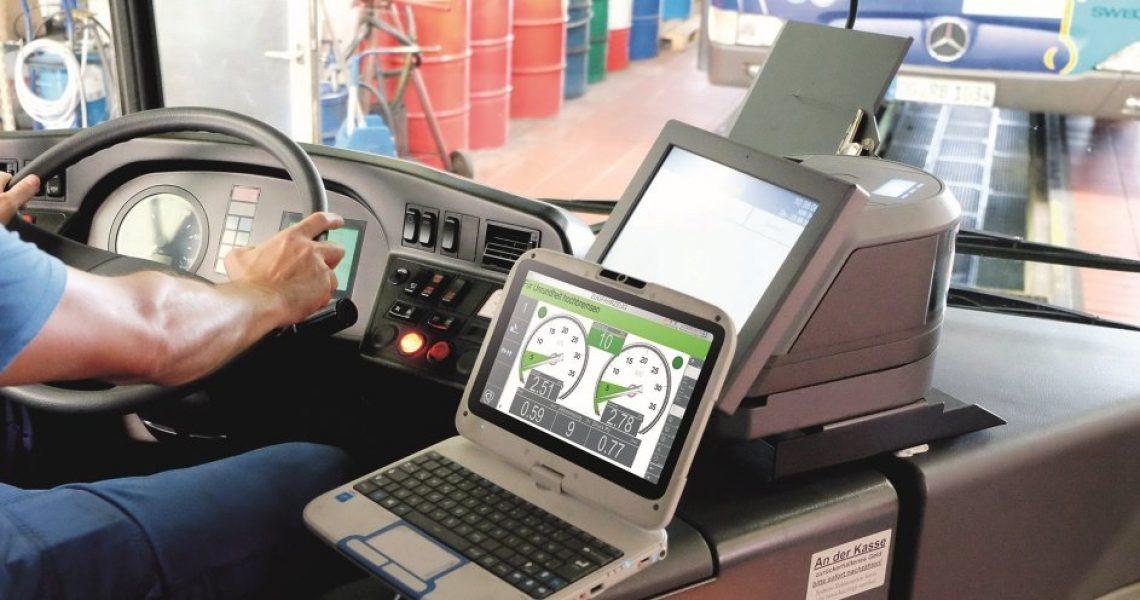Digitale Bremsprüfung ATT Nussbaum