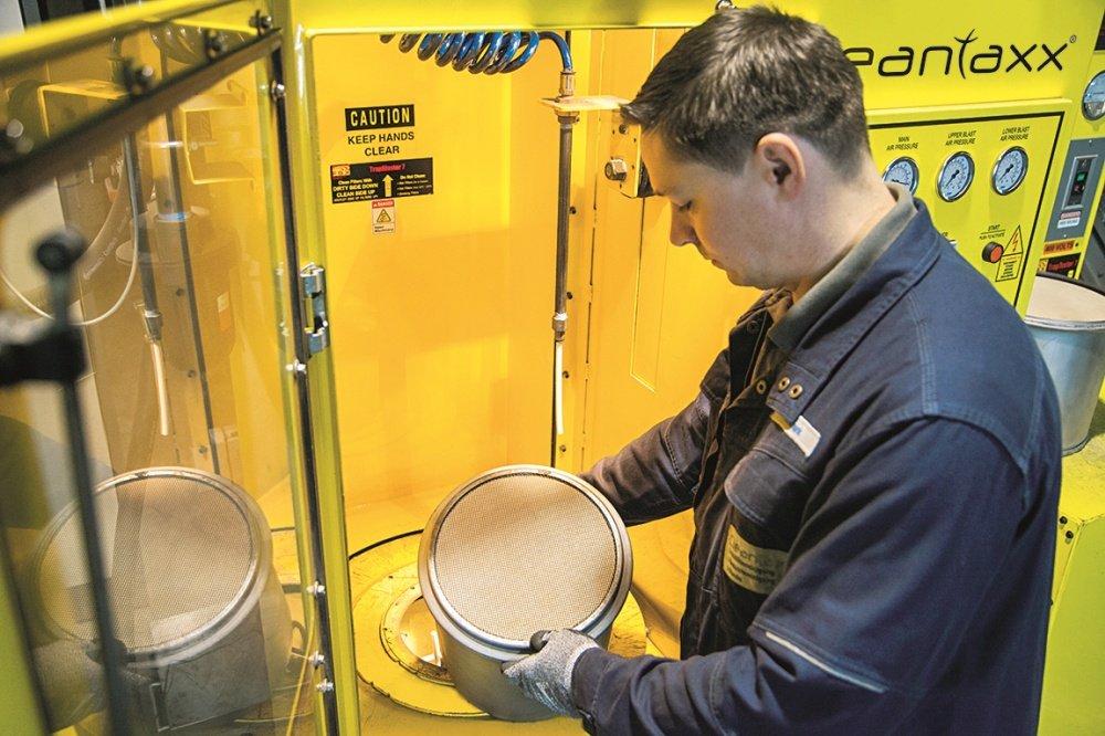 Dieselpartikelfilter-Reinigung von Cleantaxx