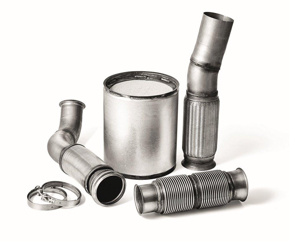 EURO-VI Abgaskomponenten von Dinex