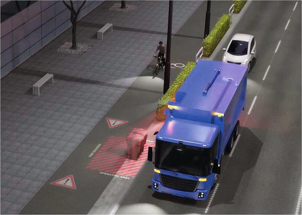 Visiotech-Projektionstechnologie von Hella