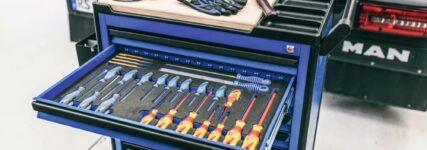 Werkzeugwagen speziell für Nutzfahrzeug-Profis