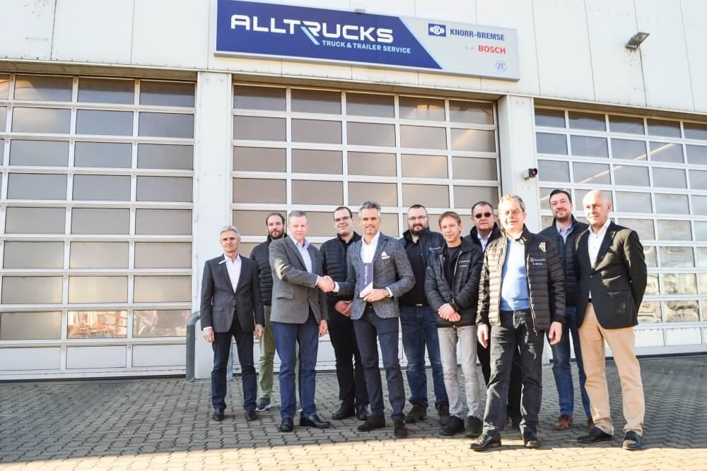 Alltruck-Werkstattkonzept feiert 600. Partnerbetrieb