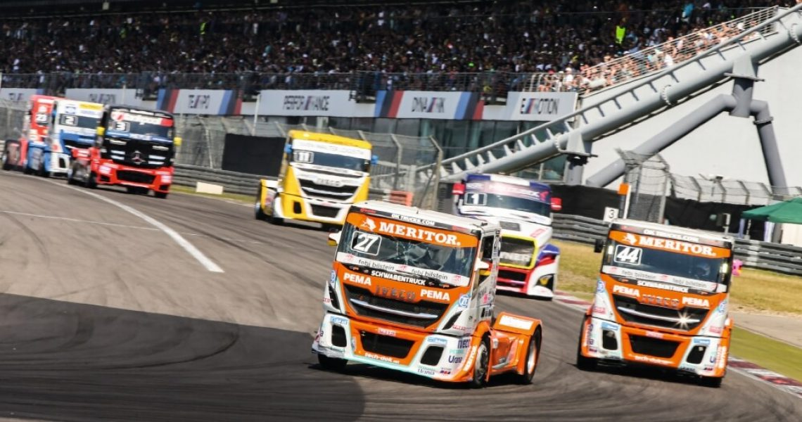 Racing-Trucks beim ADAC-Truck-Grand-Prix