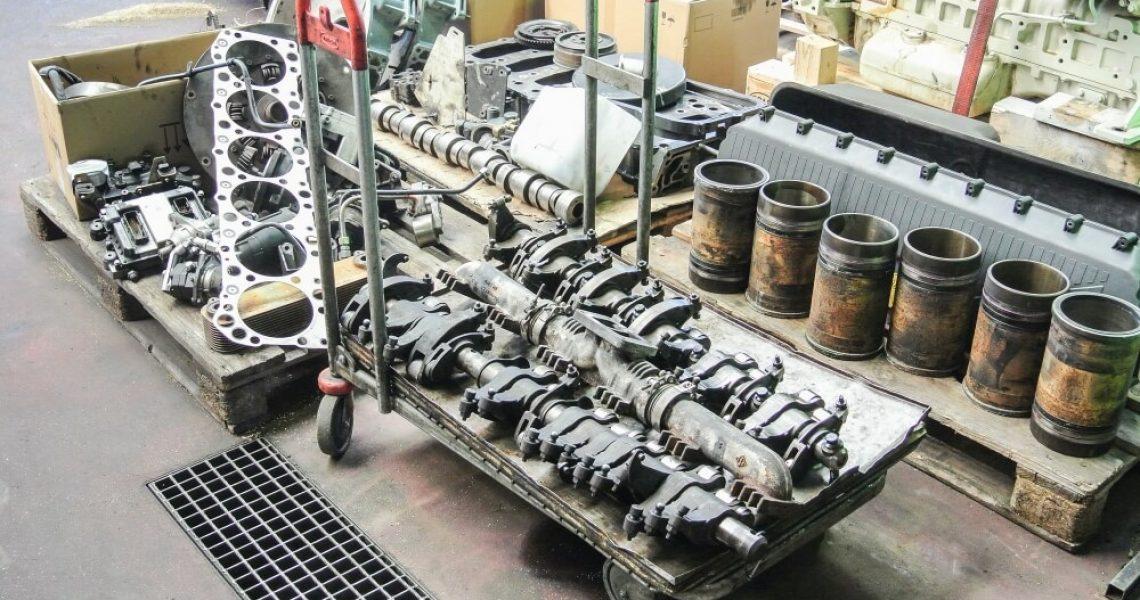 Instandsetzung von Großmotoren bei Motoren Ganslmeier