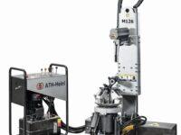 Hydraulisch angetriebene Reifenmontiermaschine