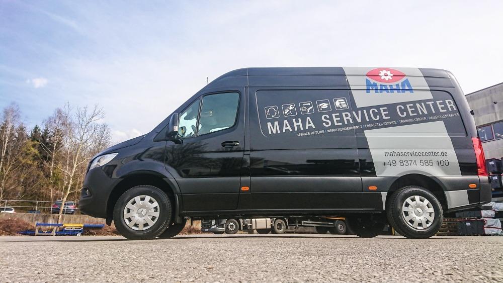 Servicefahrzeug von Maha