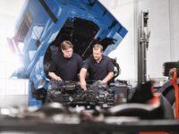 Unterstützung bei der Getriebereparatur