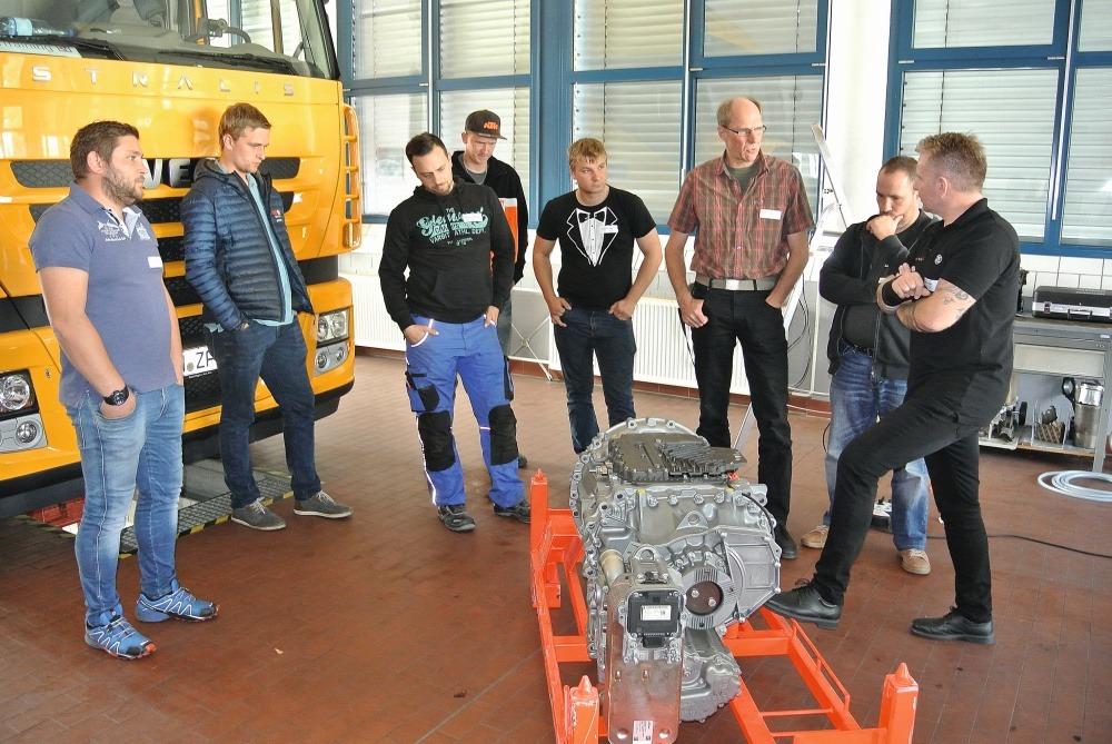 ZF Training mit dem Traxon-Getriebesystem