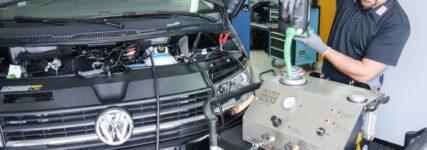 Motorreinigung mit dem Jet Clean Tronic II
