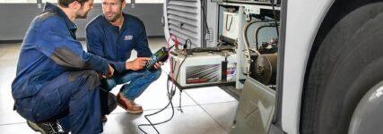 Professioneller Batterie-Service