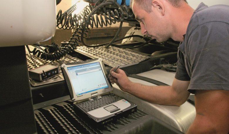 Prüftool für Fehlersuche an ABS-/EBS-Systemen