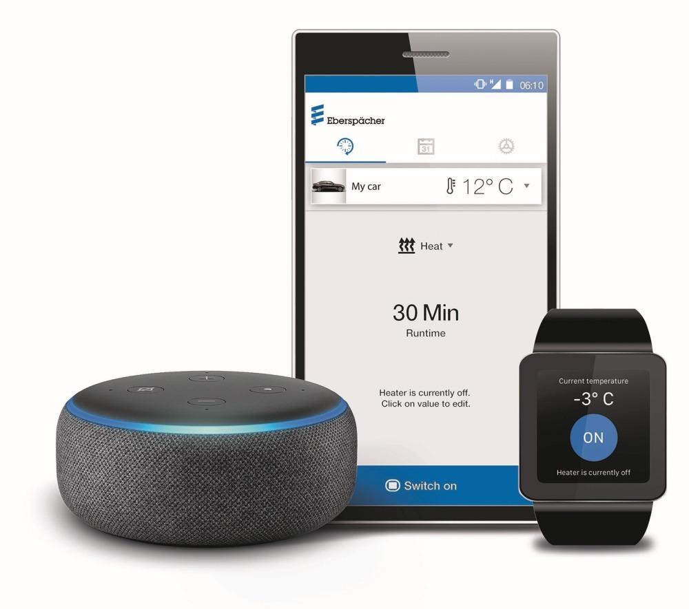 Eberspächer Standheizungs-Sprachskill für Amazon Alexa