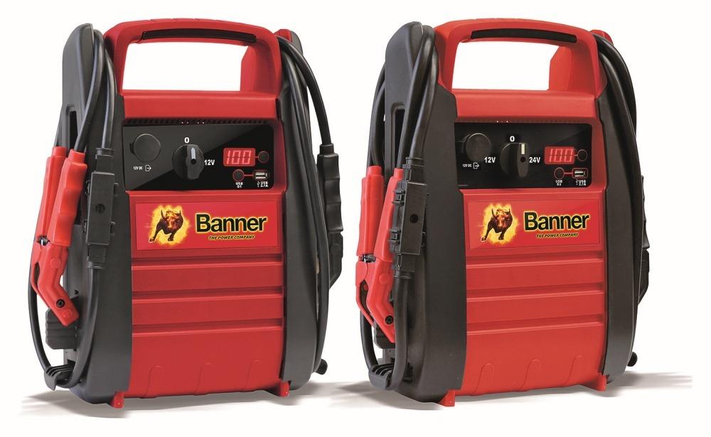 Starthilfegerät für Batterien von Banner