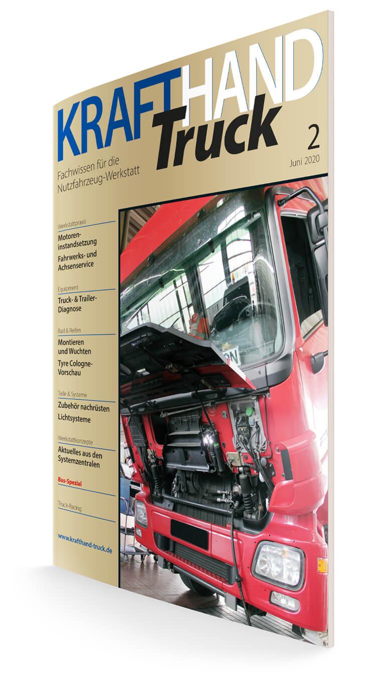 Titelseite KRAFTHAND-Truck 2/2020