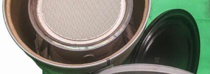 Transportbehälter für Dieselpartikelfilter
