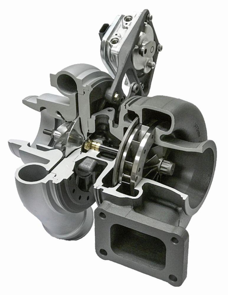 V4 VTG-Turbolader von Borg Warner