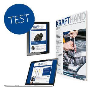 KRAFTHAND Test-Abo