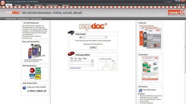 repdoc 2 0 aktuelles katalog und informationssystem von. Black Bedroom Furniture Sets. Home Design Ideas