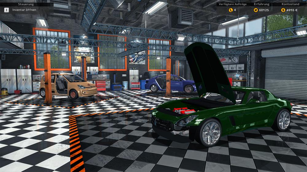 Autowerkstatt Spiele