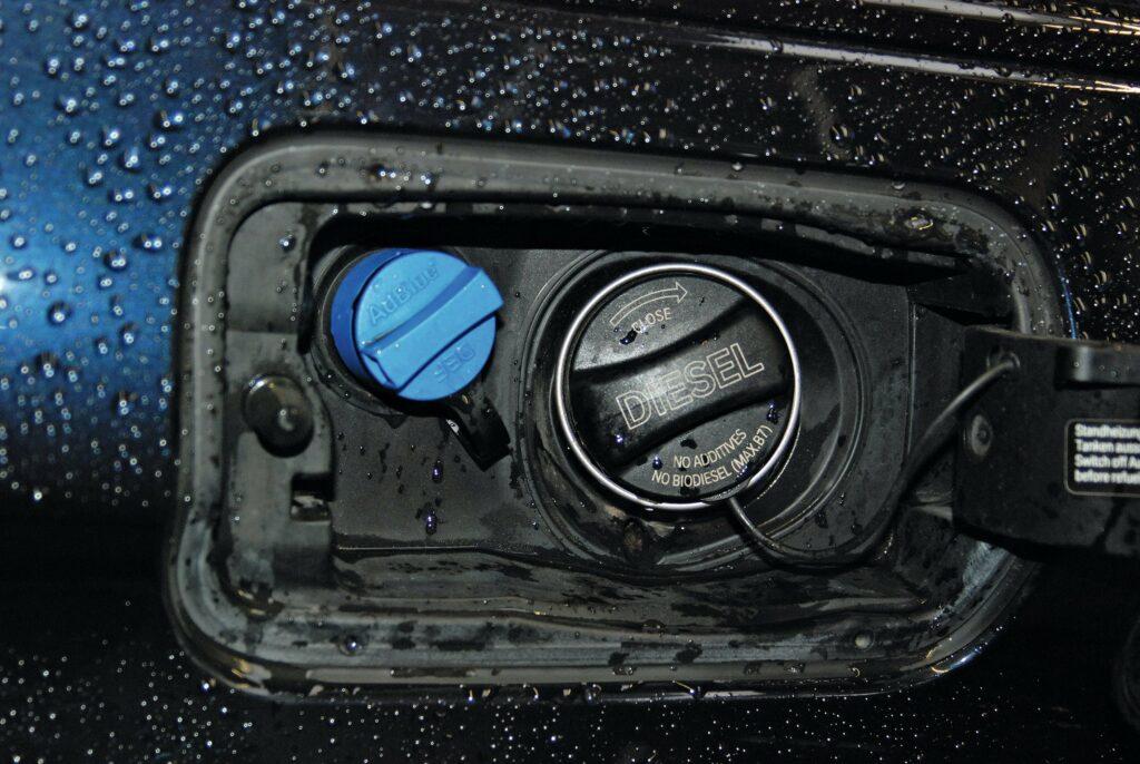 AdBlue-Einfüllstutzen