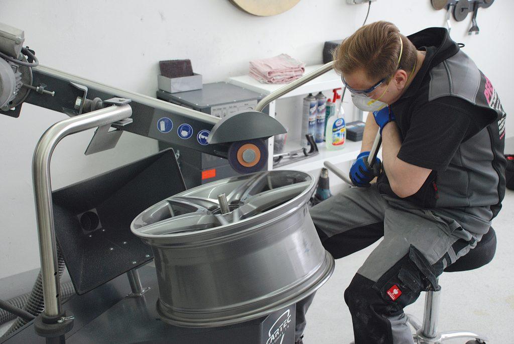Wheeldoctor, Felgenaufbereitung