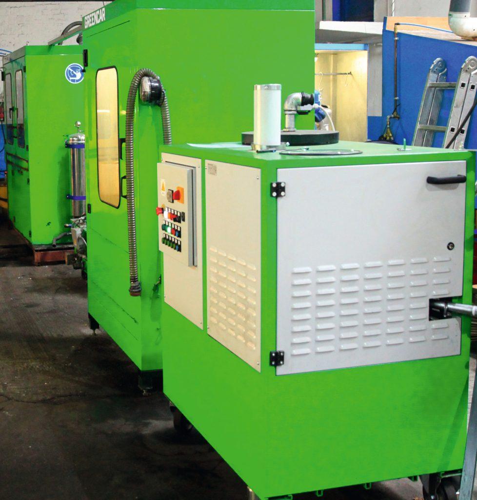 Reinigungsmaschine für DPF