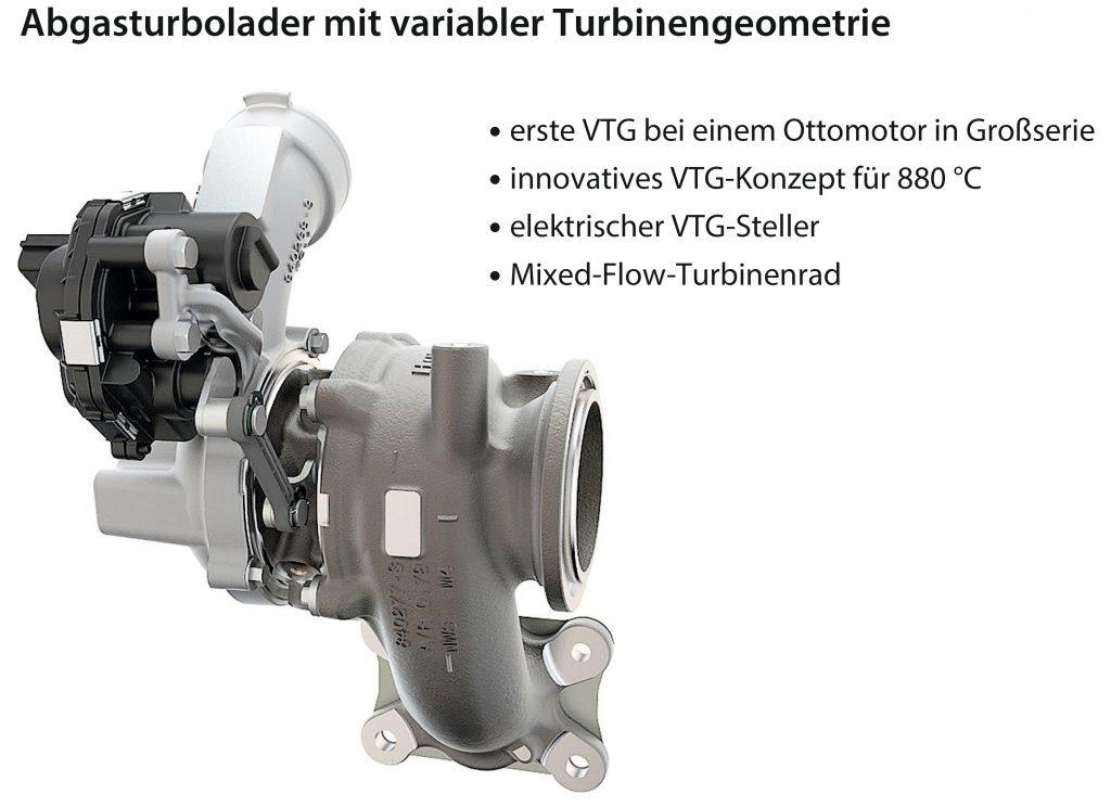 VTG-Turbolader, VW