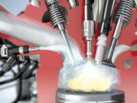 Wassereinspritzung in Verbrennungsraum