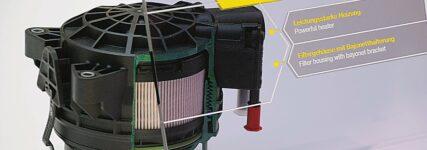 Kraftstofffiltermodul, Mann+Hummel