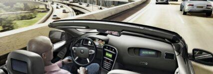Fahrercockpit Konzeptauto, Continental