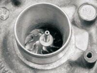gelöste Wellenmutter im Turbolader