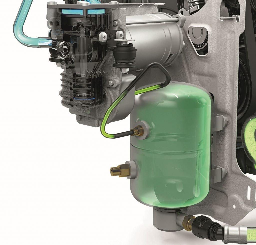 Lufttank D5-Dieselmotor