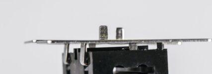 Klickplatte für Marderabwehr