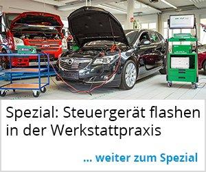 Spezial: Steuergeräte flashen